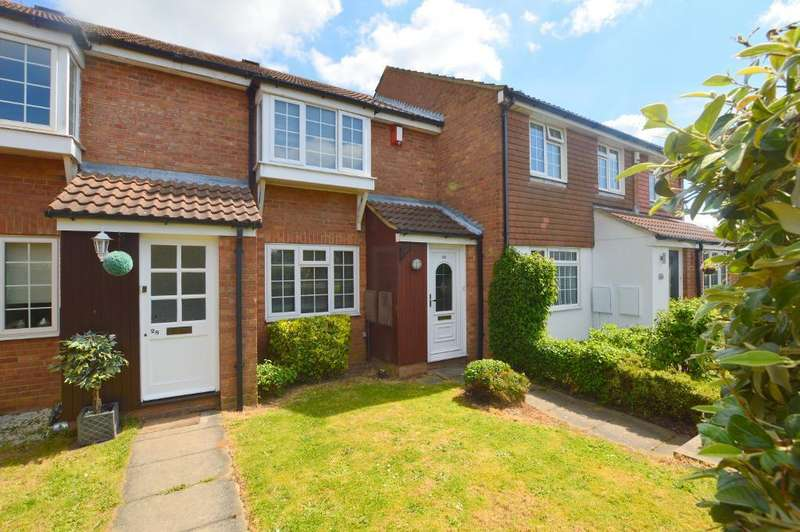 2 Bedrooms Terraced House for sale in Claverley Green, Wigmore, Luton, Bedfordshire, LU2 8TA