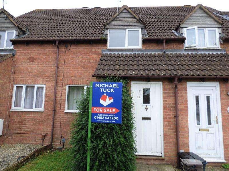 2 Bedrooms Terraced House for sale in Deerhurst Close, Gloucester