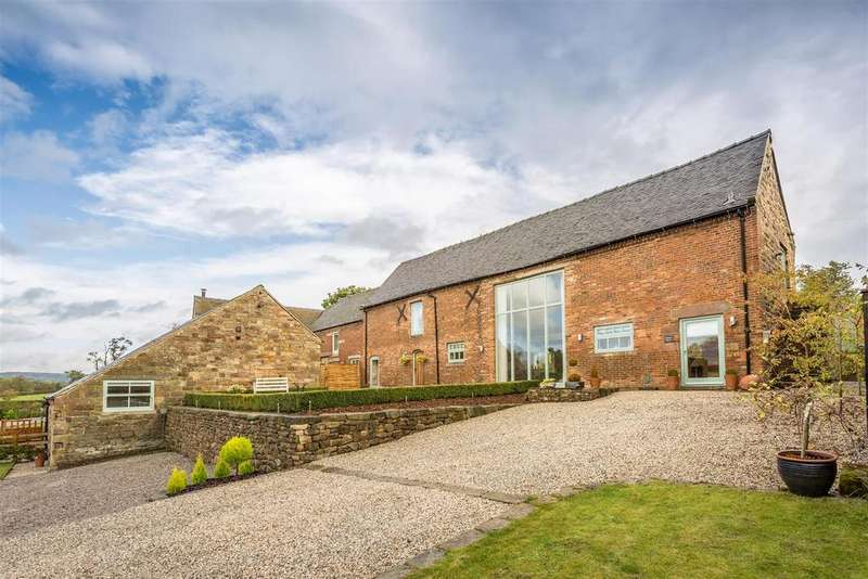 3 Bedrooms Barn Conversion Character Property for sale in Ferrers Barn, Idridgehay, Derbyshire
