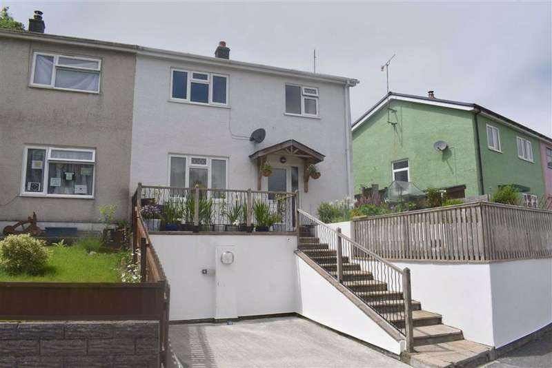 3 Bedrooms Semi Detached House for sale in Bro Einon, Llanybydder