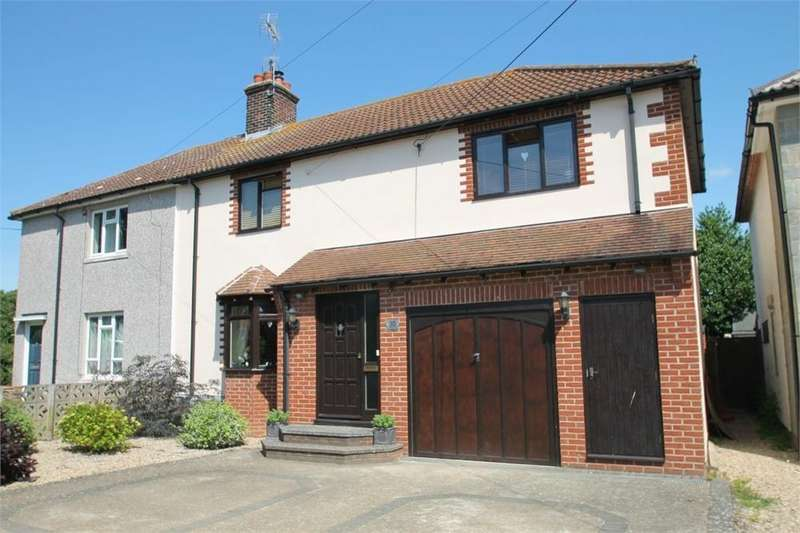 3 Bedrooms Semi Detached House for sale in The Crecsent, Great Horkesley, Colchester, Essex