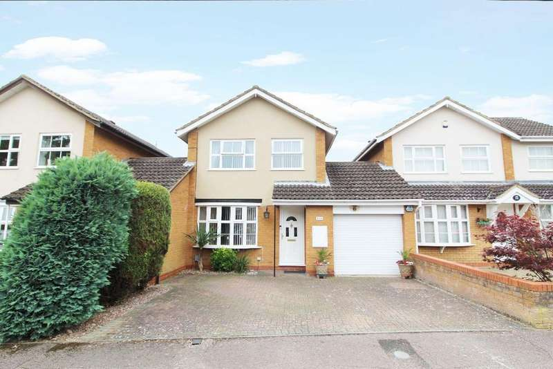 3 Bedrooms Link Detached House for sale in Hamble Road, Bedford MK41
