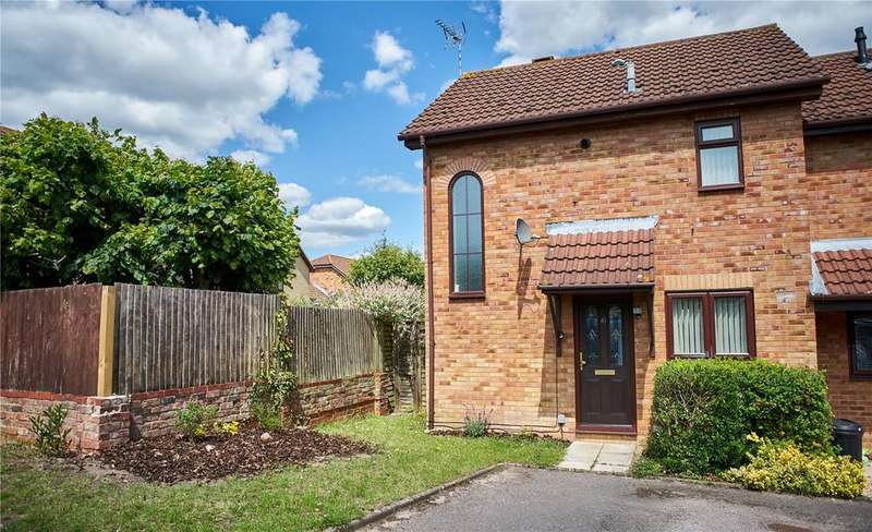 2 Bedrooms End Of Terrace House for sale in Beaconsfield Way, Earley, Reading, Berkshire, RG6