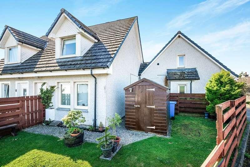 2 Bedrooms Semi Detached House for sale in Park Lane, Invergordon, IV18