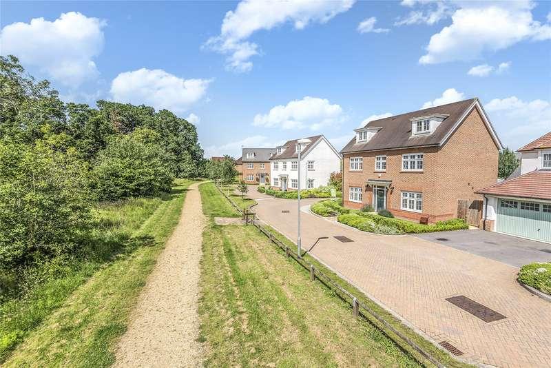 5 Bedrooms Detached House for sale in Kingfisher Chase, Jennett's Park, Bracknell, Berkshire, RG12