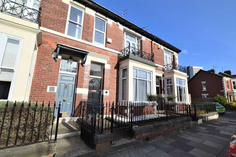 3 Bedrooms Terraced House for sale in Northumberland Gardens, Jesmond, Newcastle Upon Tyne