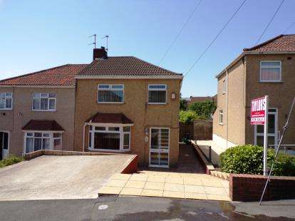 3 Bedrooms Semi Detached House for sale in Neville Road, Kingswood, Bristol