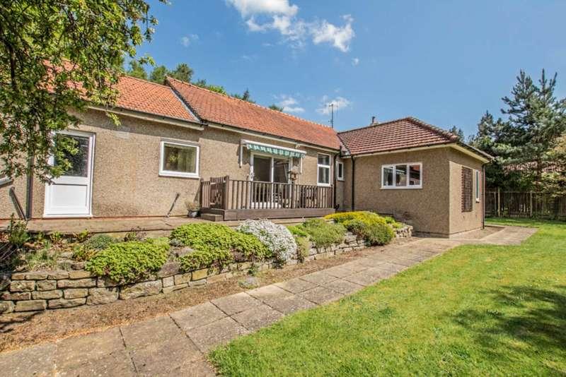 3 Bedrooms Detached Bungalow for sale in Crabtree Road, Stocksfield