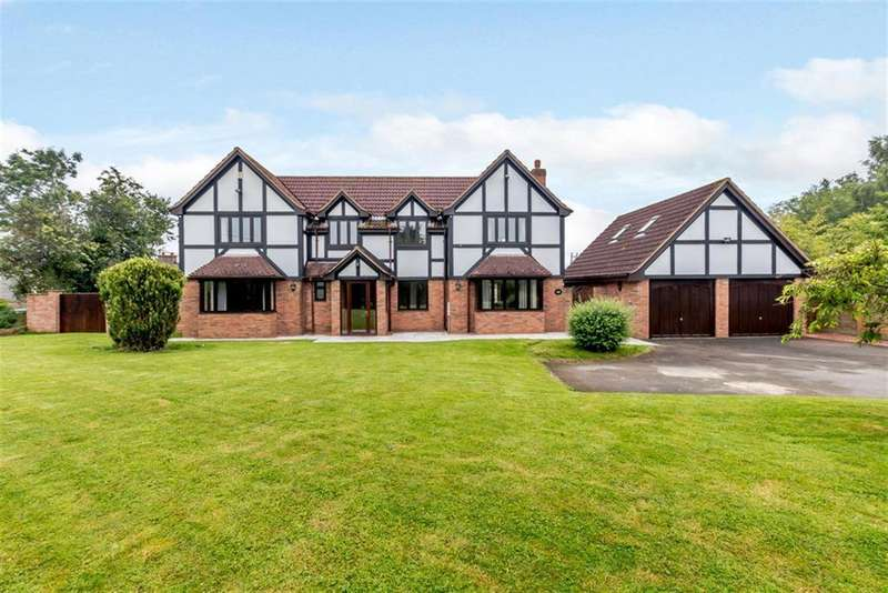 4 Bedrooms Detached House for sale in Cobhall Common, Hereford, HR2 9BP
