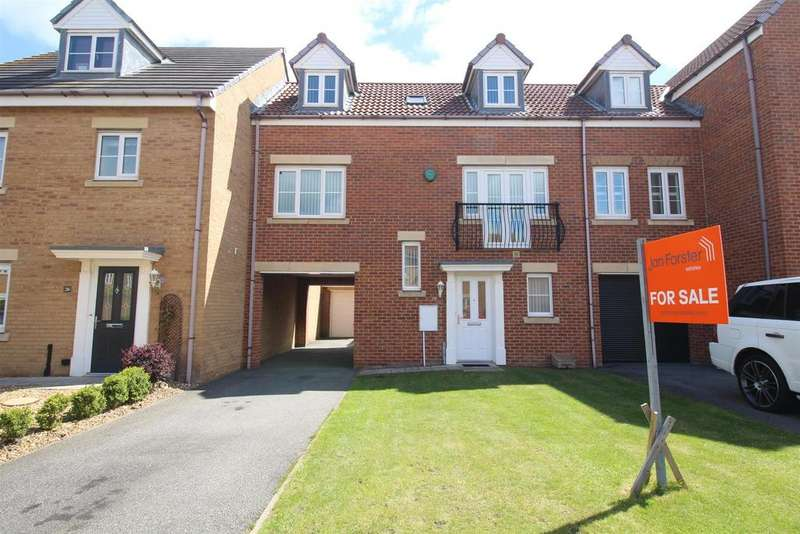 3 Bedrooms Terraced House for sale in Greenrigg Place, Shiremoor, Newcastle Upon Tyne