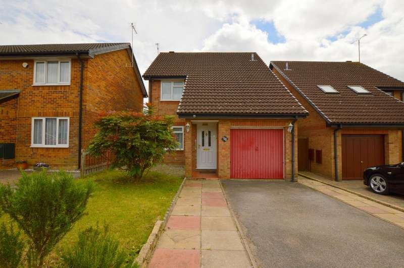 3 Bedrooms Detached House for sale in Catesby Green, Barton Hills, Luton, Bedfordshire, LU3 4DR