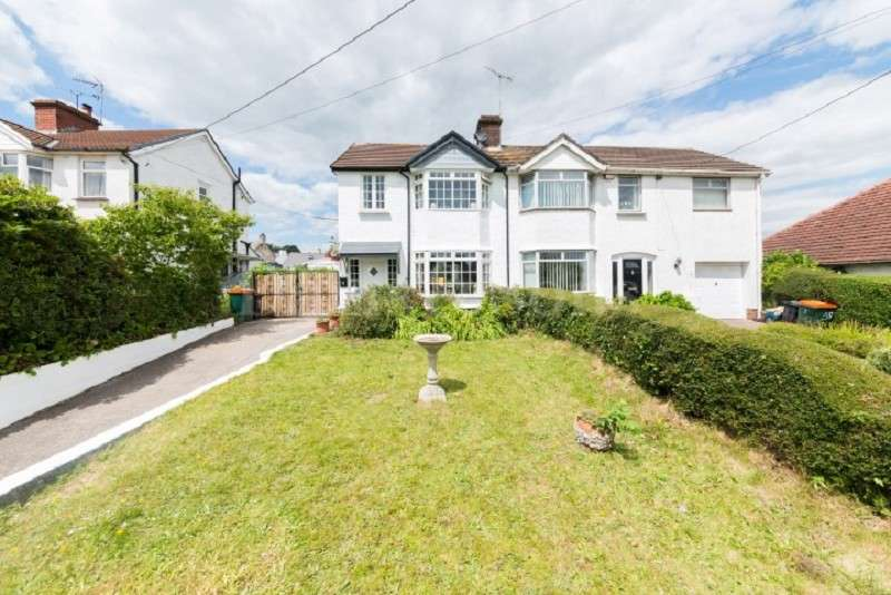 3 Bedrooms Semi Detached House for sale in Caerphilly Road, Bassaleg, Newport. NP10 8LF