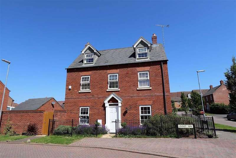 4 Bedrooms Detached House for sale in Linnet Way, Leighton Buzzard