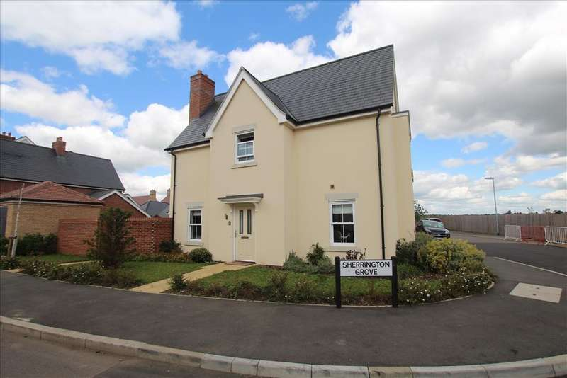 4 Bedrooms Detached House for sale in Sherrington Grove, Biggleswade, SG18