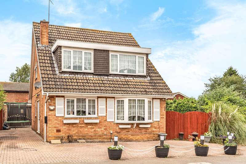 4 Bedrooms Detached House for sale in Mill Lane, Greenfield, Bedford, MK45