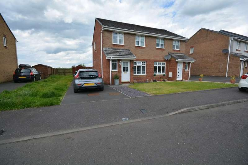 3 Bedrooms Semi Detached House for sale in Dalwhinnie Crescent, Kilmarnock, KA3
