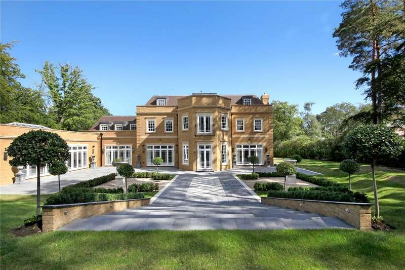 7 Bedrooms Detached House for sale in West Drive, Wentworth Estate, Berkshire, SL5