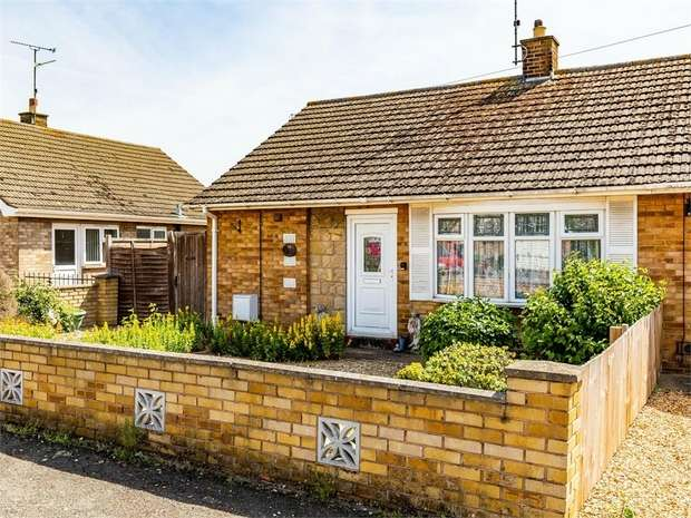 2 Bedrooms Semi Detached House for sale in Eves Close, Newborough, Peterborough, Cambridgeshire