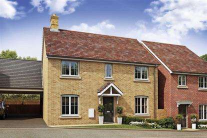 4 Bedrooms House for sale in OAKBROOK San Andres Drive, Newton Leys, Bletchley, Milton Keynes