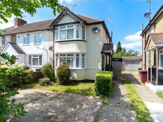 3 Bedrooms End Of Terrace House for sale in Shirley Avenue, Reading, Berkshire