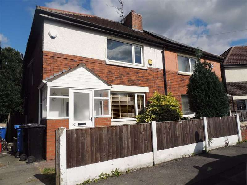 3 Bedrooms Semi Detached House for sale in Woodhall Crescent, Stockport