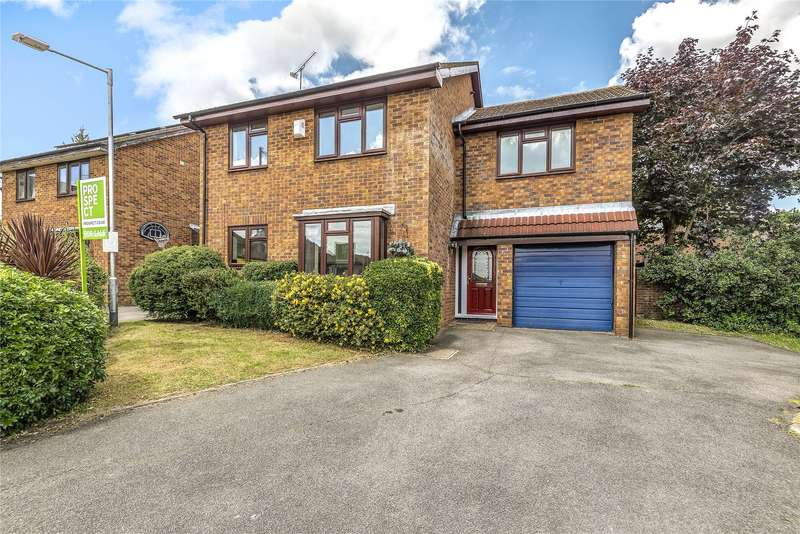 5 Bedrooms Detached House for sale in Crecy Close, Wokingham, Berkshire, RG41