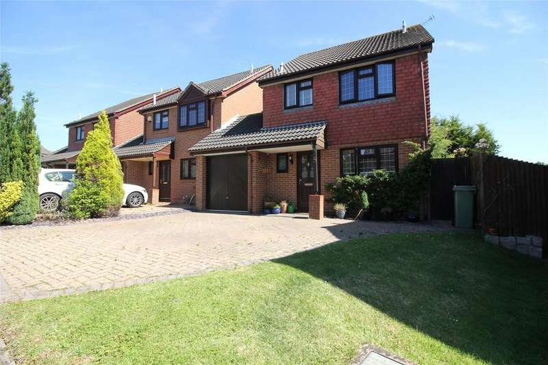 3 Bedrooms Link Detached House for sale in Worrall Way, Lower Earley, Reading, Berkshire, RG6
