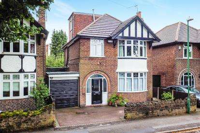 4 Bedrooms Detached House for sale in Harrow Road, Wollaton, Nottingham, Nottinghamshire