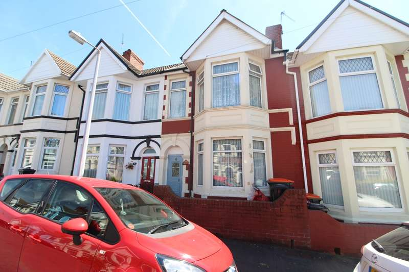 3 Bedrooms Terraced House for sale in Windsor Road, Newport, NP19