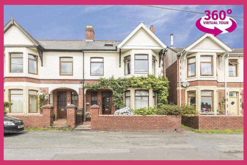 4 Bedrooms Semi Detached House for sale in Broadweir Road, Cwmbran - REF# 00007228 - View 360 Tour at
