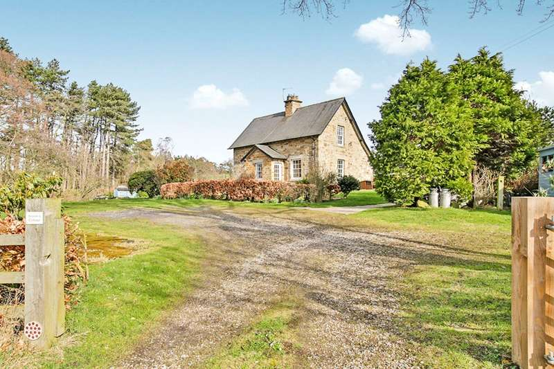 3 Bedrooms Detached House for sale in Harperley Hall, Fir Tree, Crook, County Durham, DL15