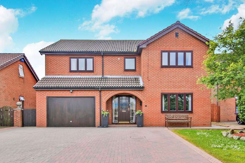 4 Bedrooms Detached House for sale in Cherry Drive, Haswell, Durham, DH6