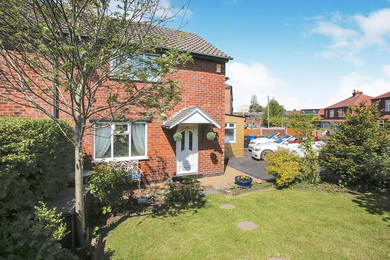 2 Bedrooms Semi Detached House for sale in Maple Avenue, Marple, Stockport, Cheshire, SK6