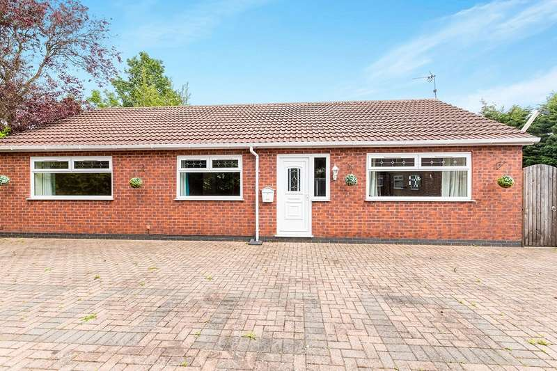 3 Bedrooms Detached Bungalow for sale in Ditchfield Road, Widnes, Cheshire, WA8