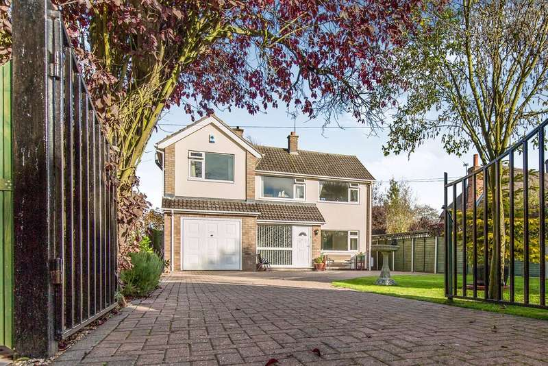 4 Bedrooms Detached House for sale in Glendoveer, Wix Road, Bradfield, Colchester