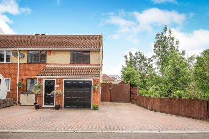 3 Bedrooms Semi Detached House for sale in Lavers Close, Kingswood, Bristol