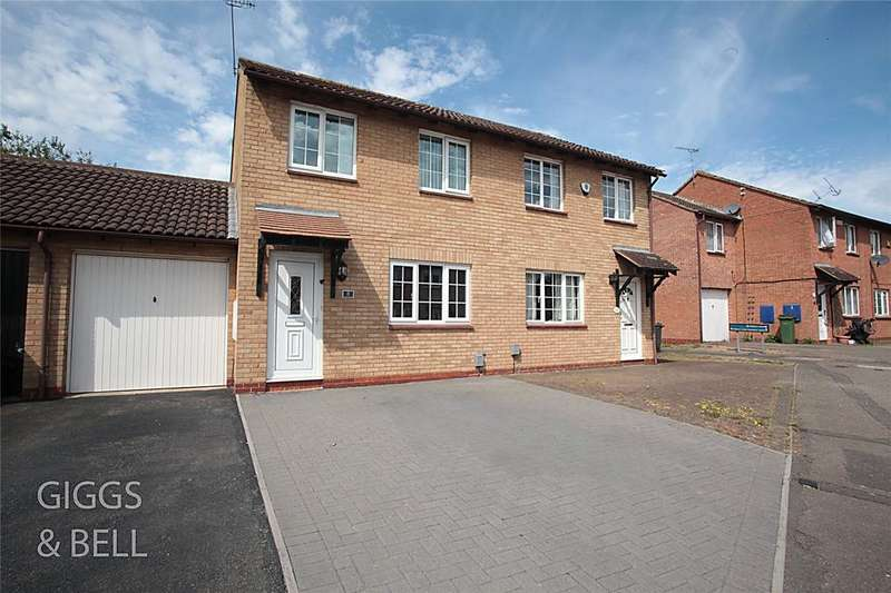 3 Bedrooms Semi Detached House for sale in Wootton Close, Luton, Bedfordshire, LU3