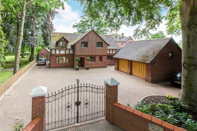 5 Bedrooms Detached House for sale in Church Road, Alsager, Stoke-on-Trent, ST7