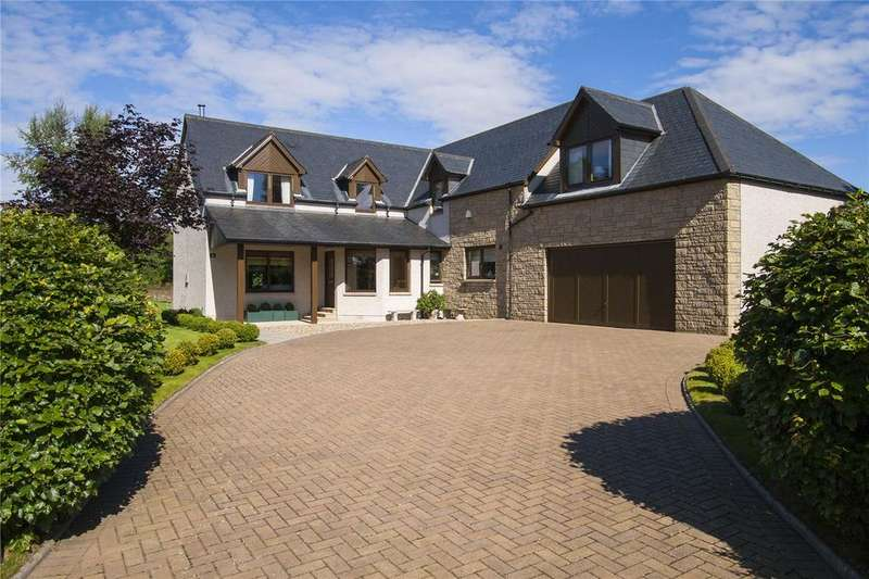 4 Bedrooms Detached House for sale in Tarriebank Gardens, By Arbroath, Angus, DD11