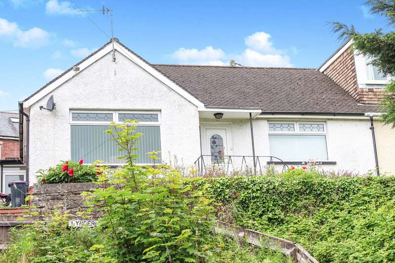 2 Bedrooms Semi Detached Bungalow for sale in Broadway, Pontypool, NP4