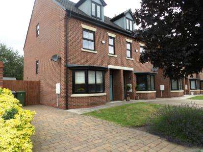 3 Bedrooms Semi Detached House for sale in Coppenhall Way, Sandbach, Cheshire