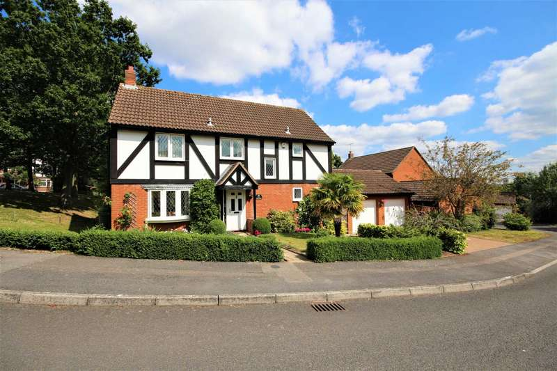 4 Bedrooms Detached House for sale in Fletcher Gardens, Binfield