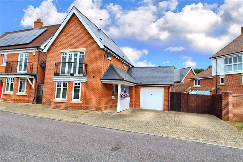 3 Bedrooms Detached House for sale in Tile House Lane, Great Horksley, Colchester