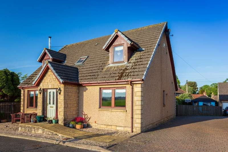 4 Bedrooms Detached House for sale in Lathrisk Road, Newton Of Falkland, Cupar, KY15