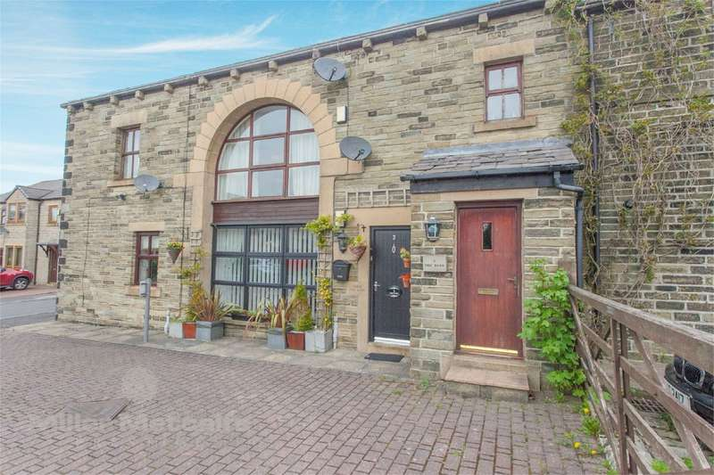 2 Bedrooms Flat for sale in Moorhouse Farm, Milnrow, Rochdale, Lancashire, OL16