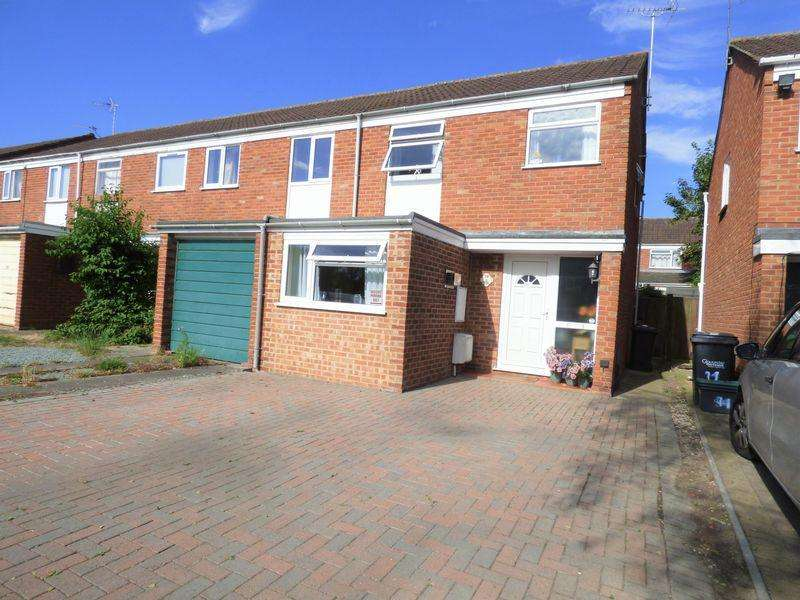 3 Bedrooms End Of Terrace House for sale in Pennine Close, Gloucester