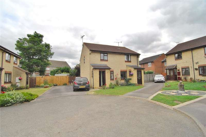 2 Bedrooms Semi Detached House for sale in Osprey Drive, Stonehouse, Gloucestershire, GL10