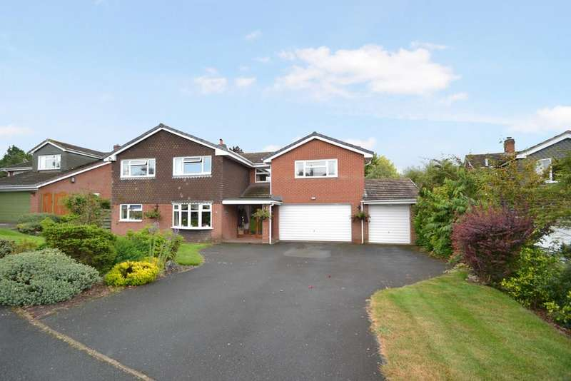 6 Bedrooms Detached House for sale in The Evergreens, Sheriffhales, Shifnal, Shropshire, TF11 8SB