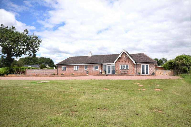 3 Bedrooms Detached Bungalow for sale in Apple Cross Lodge, Alveley, Bridgnorth, Shropshire, WV15