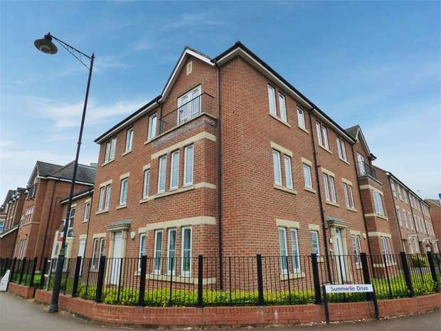2 Bedrooms Flat for sale in Summerlin Drive, Woburn Sands, Milton Keynes, Buckinghamshire